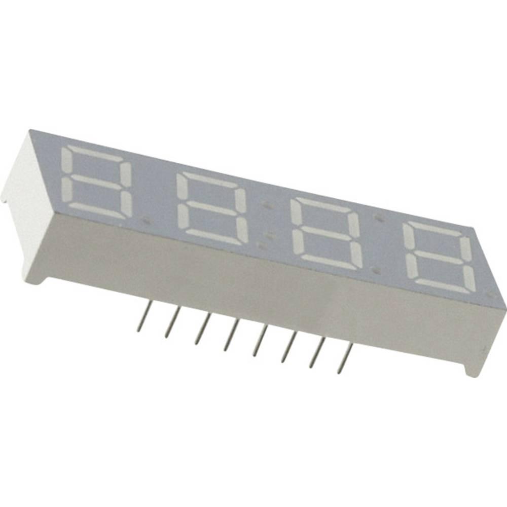 7-Segment-Anzeige (value.1317366) Everlight Opto 10 mm 2.1 V Grøn