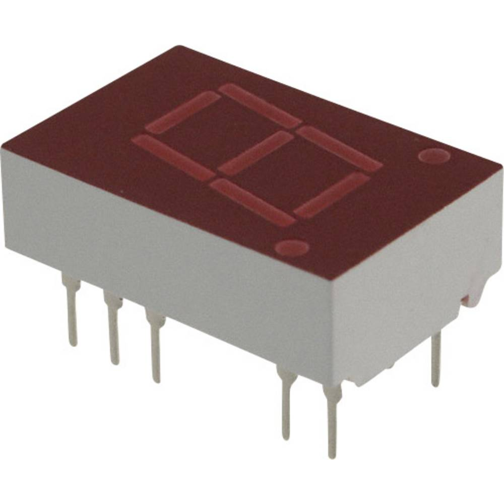 7-Segment-Anzeige (value.1317366) Broadcom 11 mm 2.1 V Rød