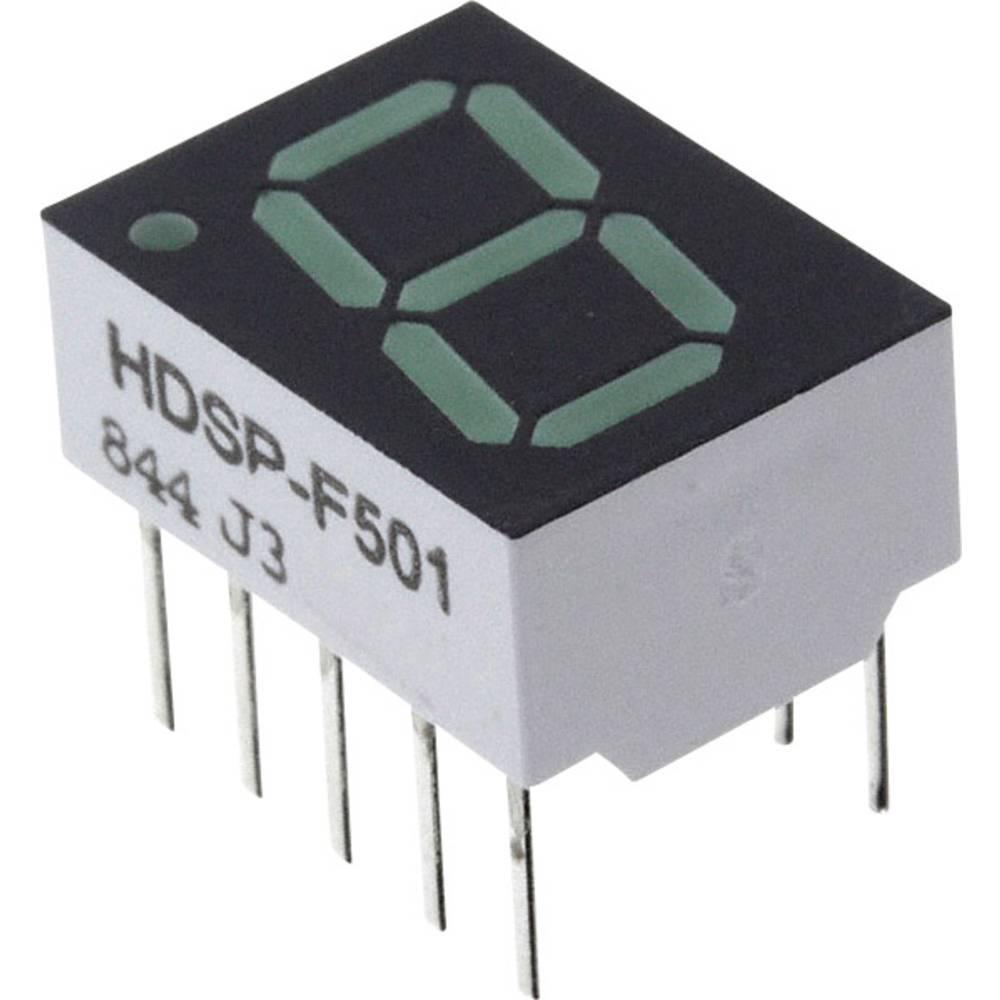 7-Segment-Anzeige (value.1317366) Broadcom 10.16 mm 2.1 V Grøn