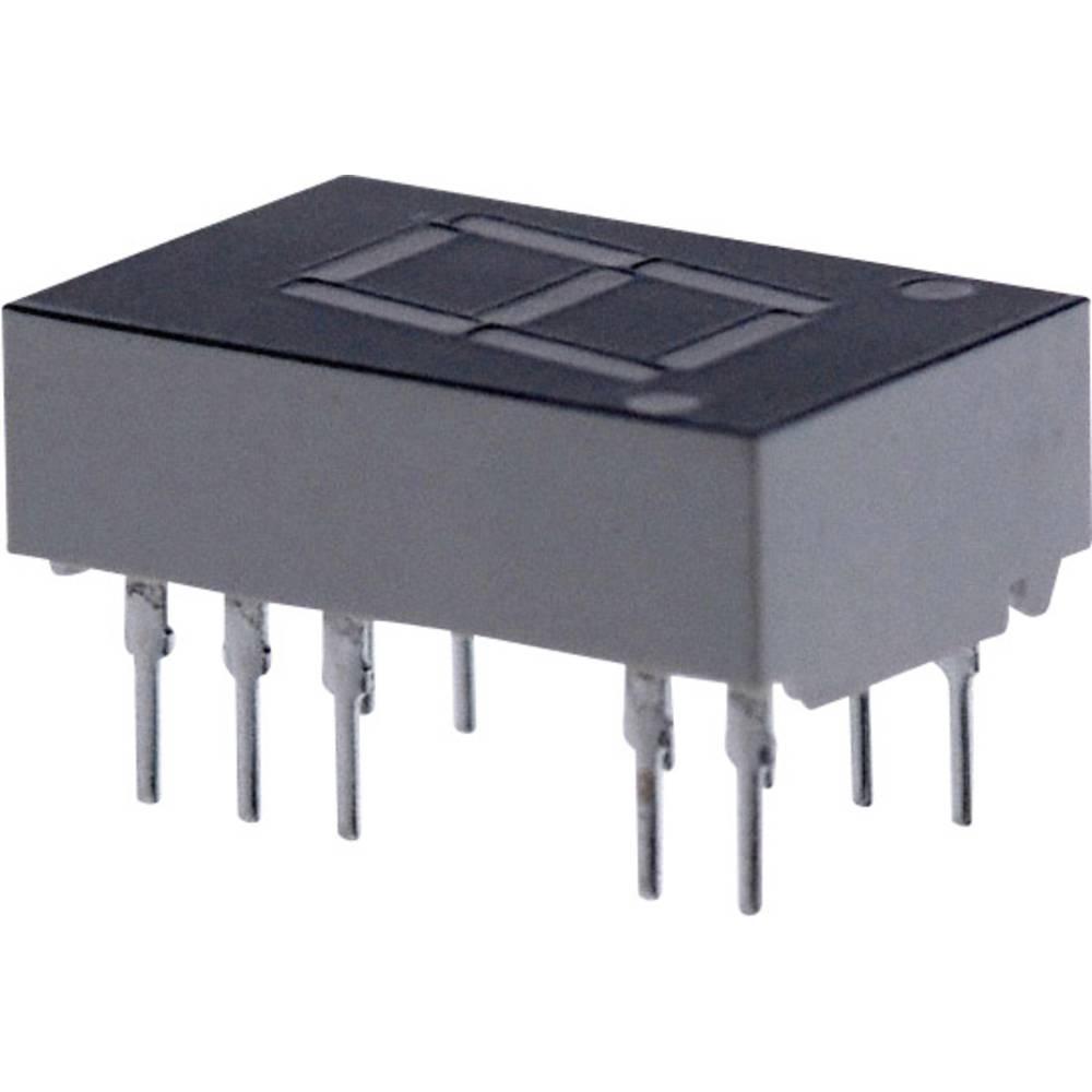 7-segmentsvisning Broadcom 11 mm 1.7 V Rød