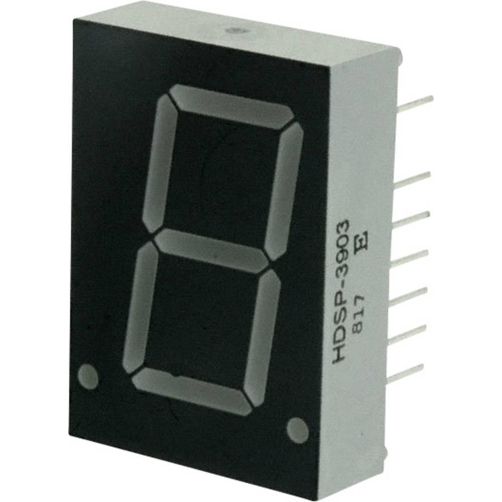 7-Segment-Anzeige (value.1317366) Broadcom 20.32 mm 2.6 V Rød