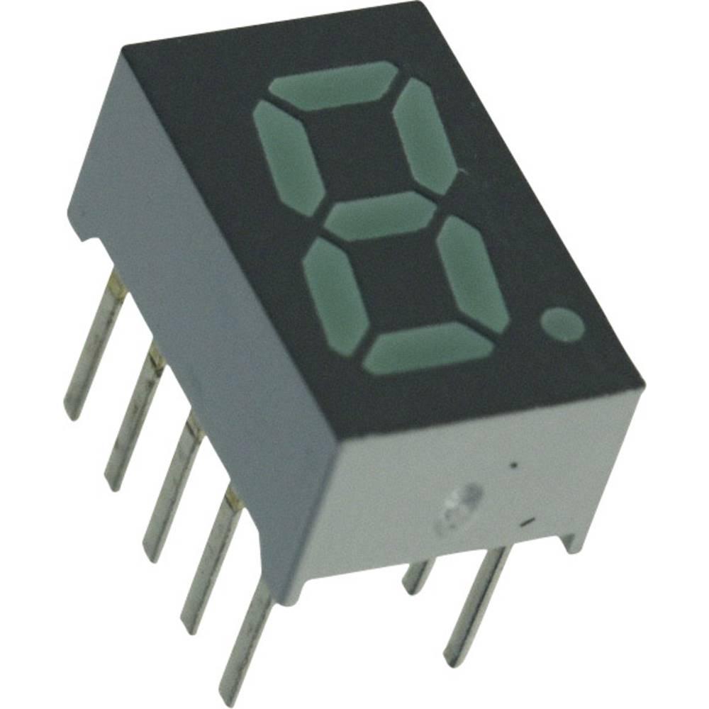 7-segmentsvisning Broadcom 7.87 mm 2.1 V Grøn