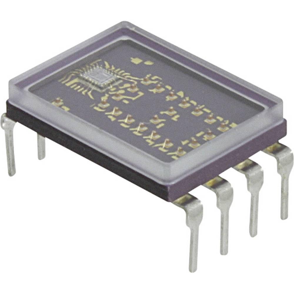 7-Segment-Anzeige (value.1317366) Broadcom 7.4 mm Grøn