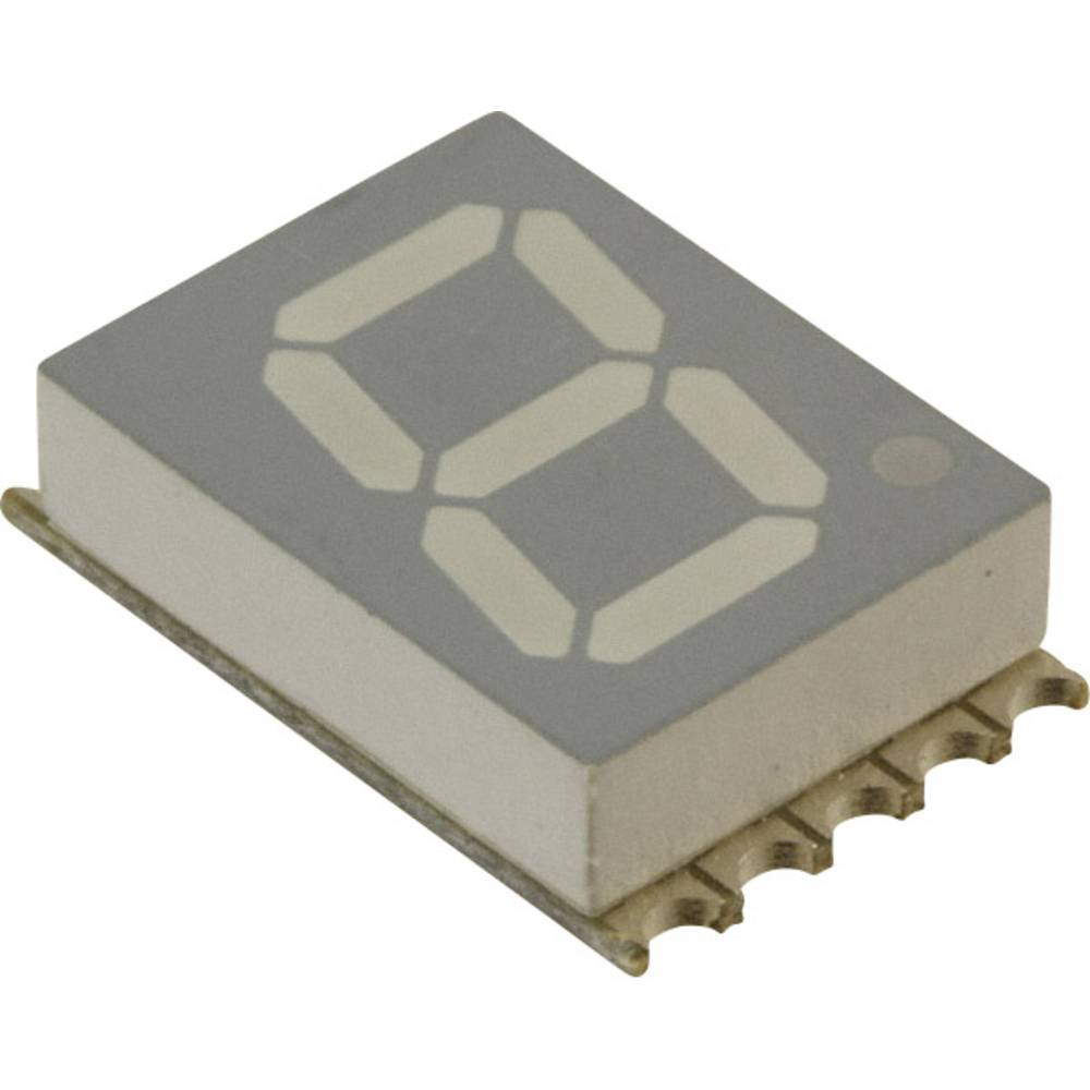 7-Segment-Anzeige (value.1317366) Broadcom 10 mm 2.95 V Hvid