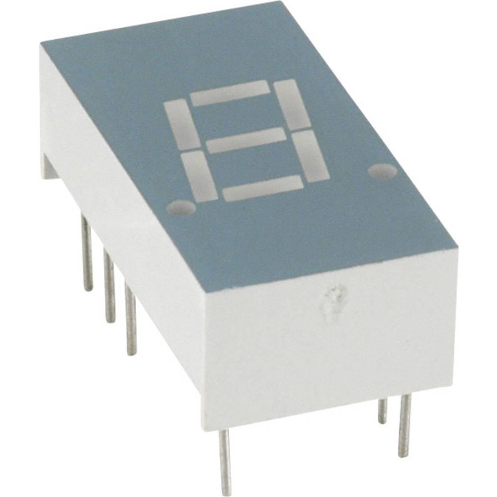 7-Segment-Anzeige (value.1317366) LUMEX 7.8 mm 1.7 V Rød