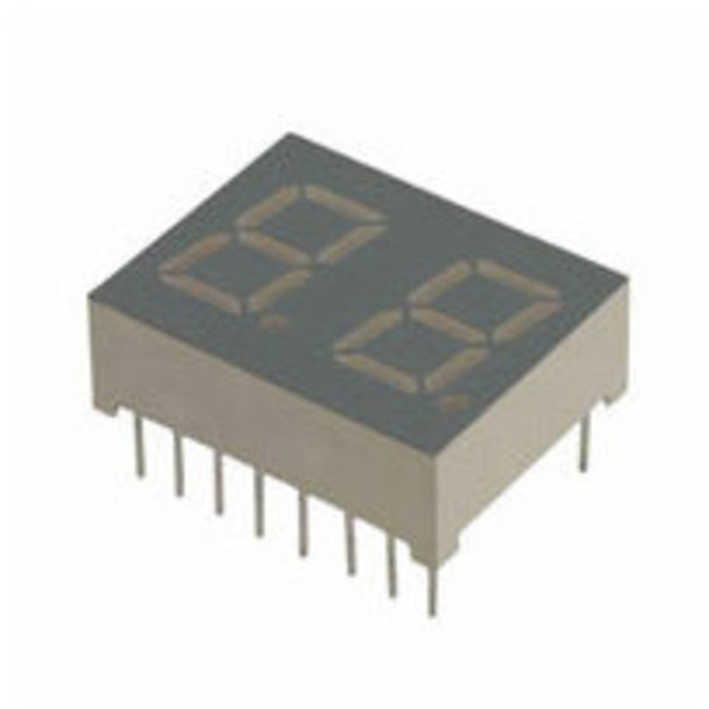 7-segmentsvisning LUMEX 10.2 mm 2.2 V Grøn