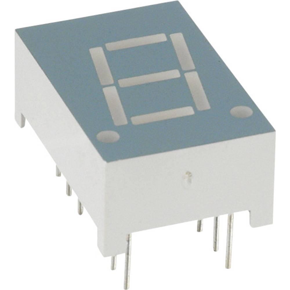 7-segmentsvisning LUMEX 10.92 mm 1.8 V Rød