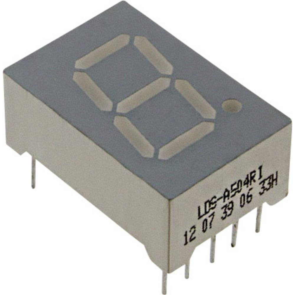 7-segmentsvisning LUMEX 12.7 mm 2 V Rød