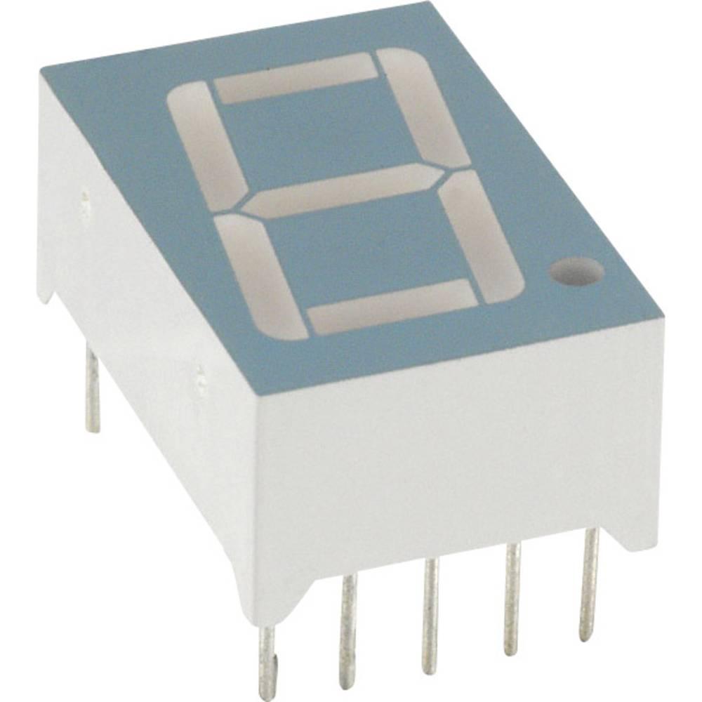 7-Segment-Anzeige (value.1317366) LUMEX 14.2 mm 1.8 V Rød