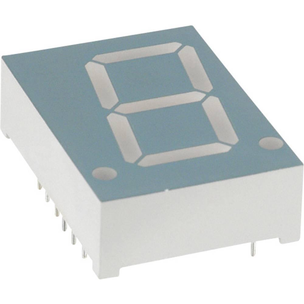 7-segmentsvisning LUMEX 20.4 mm 2.1 V Gul
