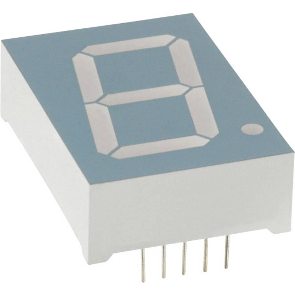 7-segmentsvisning LUMEX 25.4 mm 4 V Rød