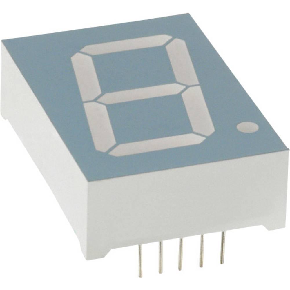 7-Segment-Anzeige (value.1317366) LUMEX 25.4 mm 4.4 V Grøn