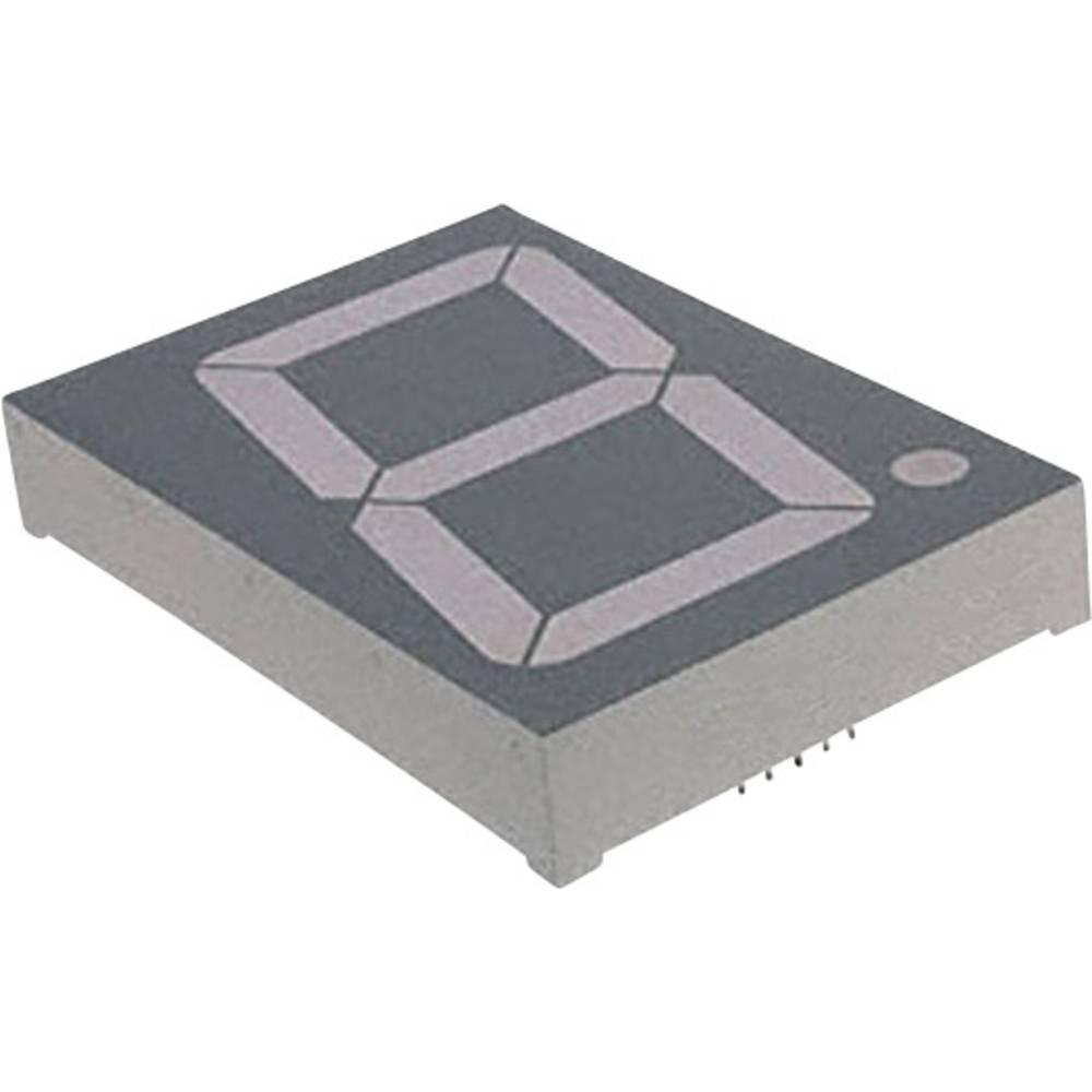 7-Segment-Anzeige (value.1317366) LUMEX 56.9 mm 8 V Rød