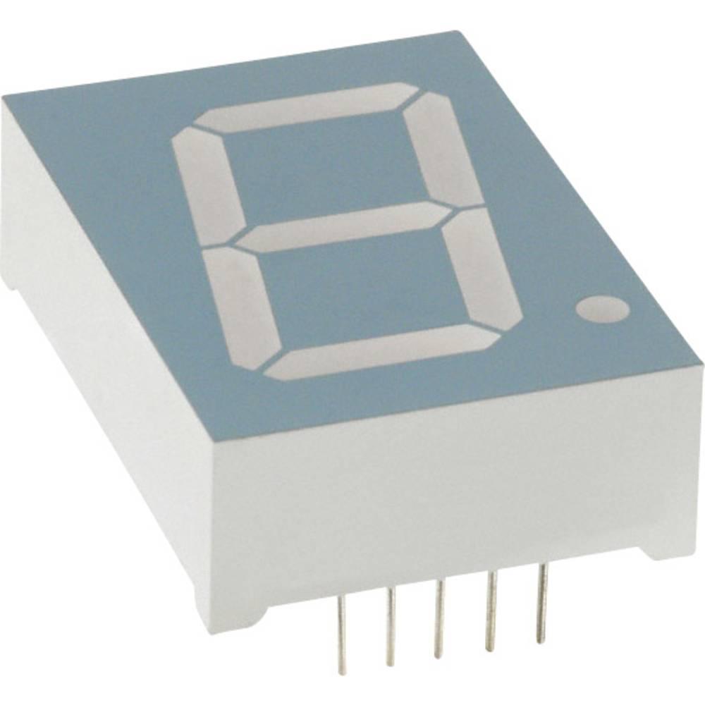 7-segmentsvisning LUMEX 56.9 mm 6.8 V Rød