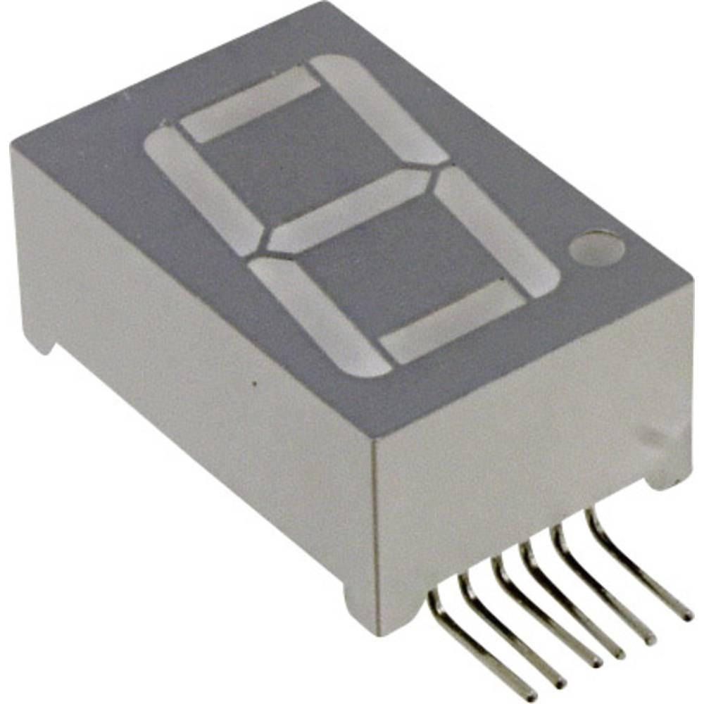 7-Segment-Anzeige (value.1317366) LUMEX 14.2 mm 2.2 V Grøn