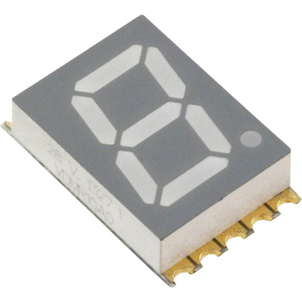 7-Segment-Anzeige (value.1317366) Vishay VDMR10A0 10 mm 2 V Rød