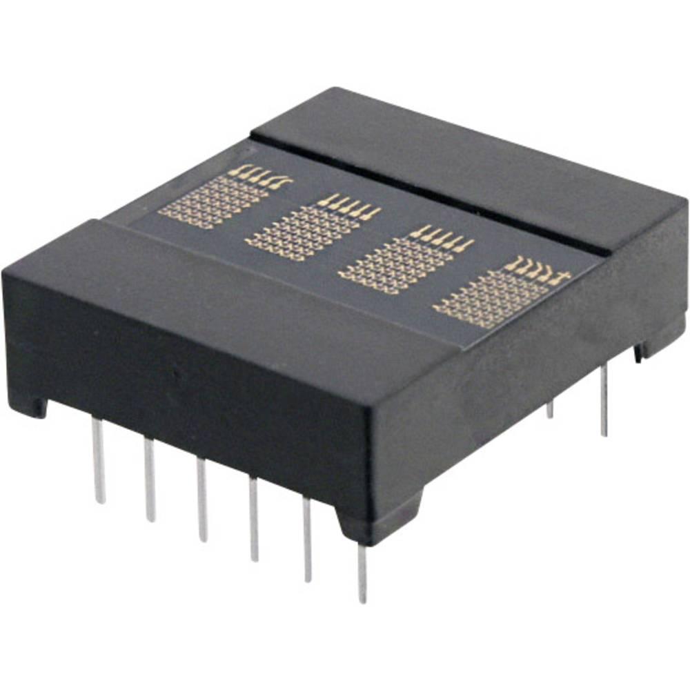 Punkt-Matrix-Anzeige (value.1317368) OSRAM 3.66 mm Rød