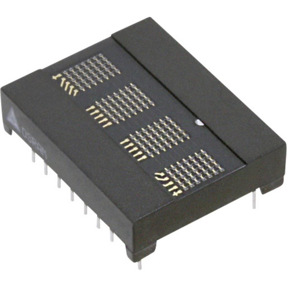Punkt-Matrix-Anzeige (value.1317368) OSRAM 5.08 mm Rød