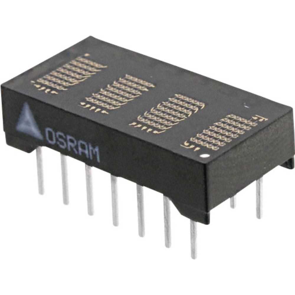 Punkt-matrix-display OSRAM 4.72 mm Grøn