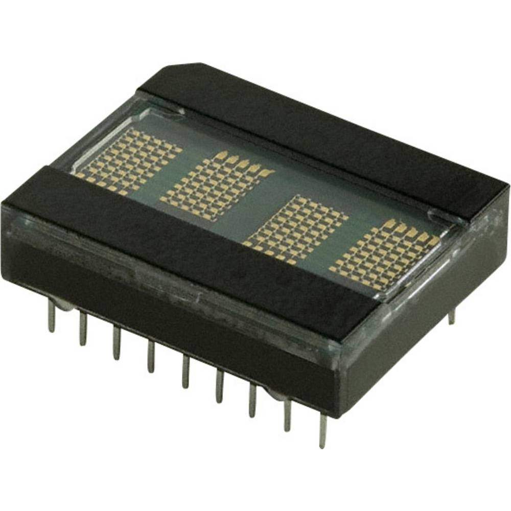 Punkt-Matrix-Anzeige (value.1317368) Broadcom HDLO-2416 5.08 mm Rød