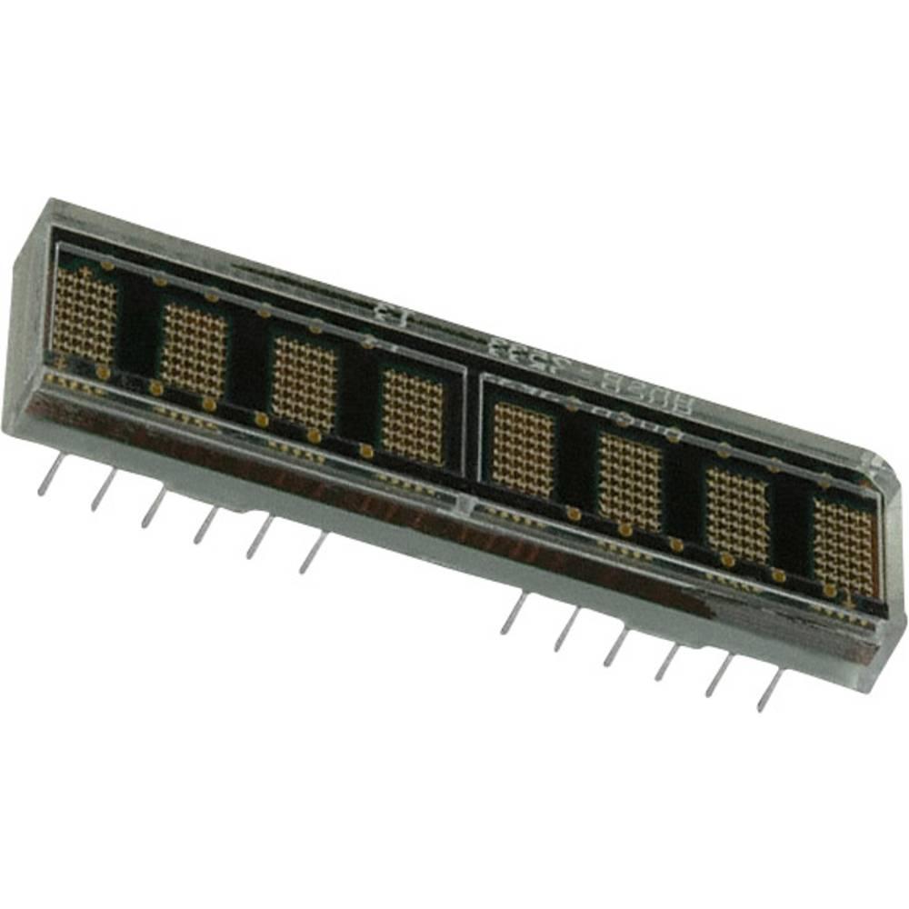 Punkt-Matrix-Anzeige (value.1317368) Broadcom 4.57 mm Rød