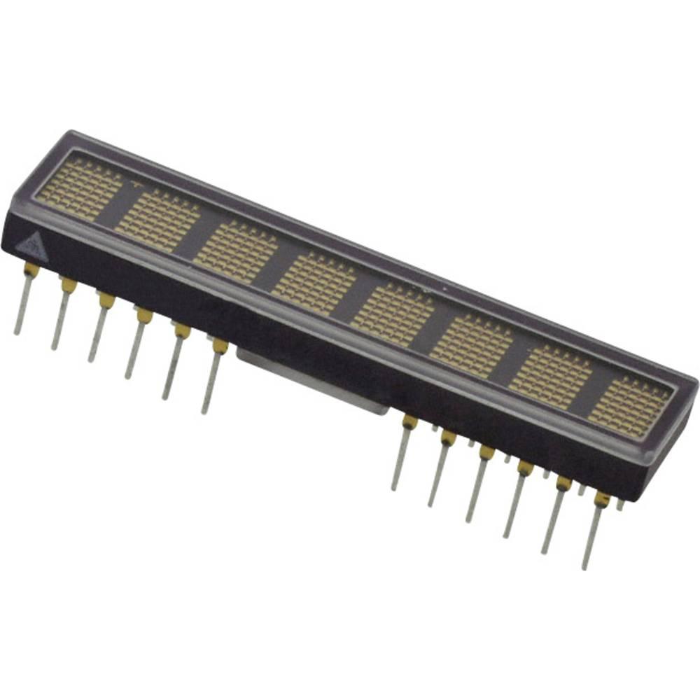 Punkt-Matrix-Anzeige (value.1317368) Broadcom HDSP-2131 4.83 mm Gul