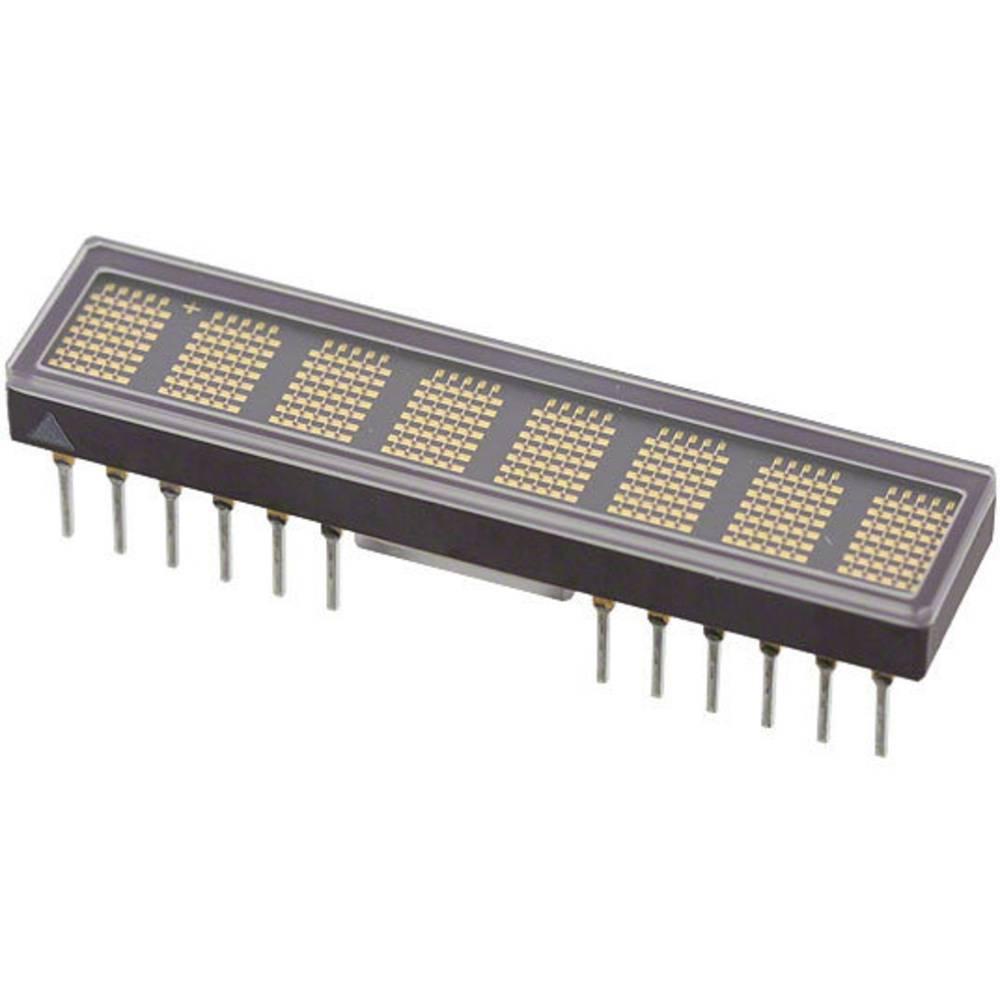Punkt-Matrix-Anzeige (value.1317368) Broadcom 4.83 mm Rød