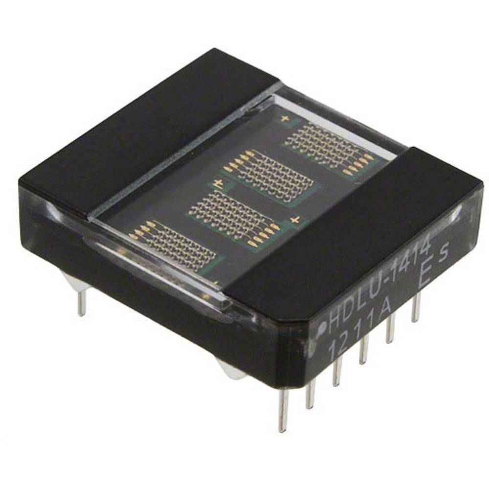 Punkt-Matrix-Anzeige (value.1317368) Broadcom 3.61 mm Rød