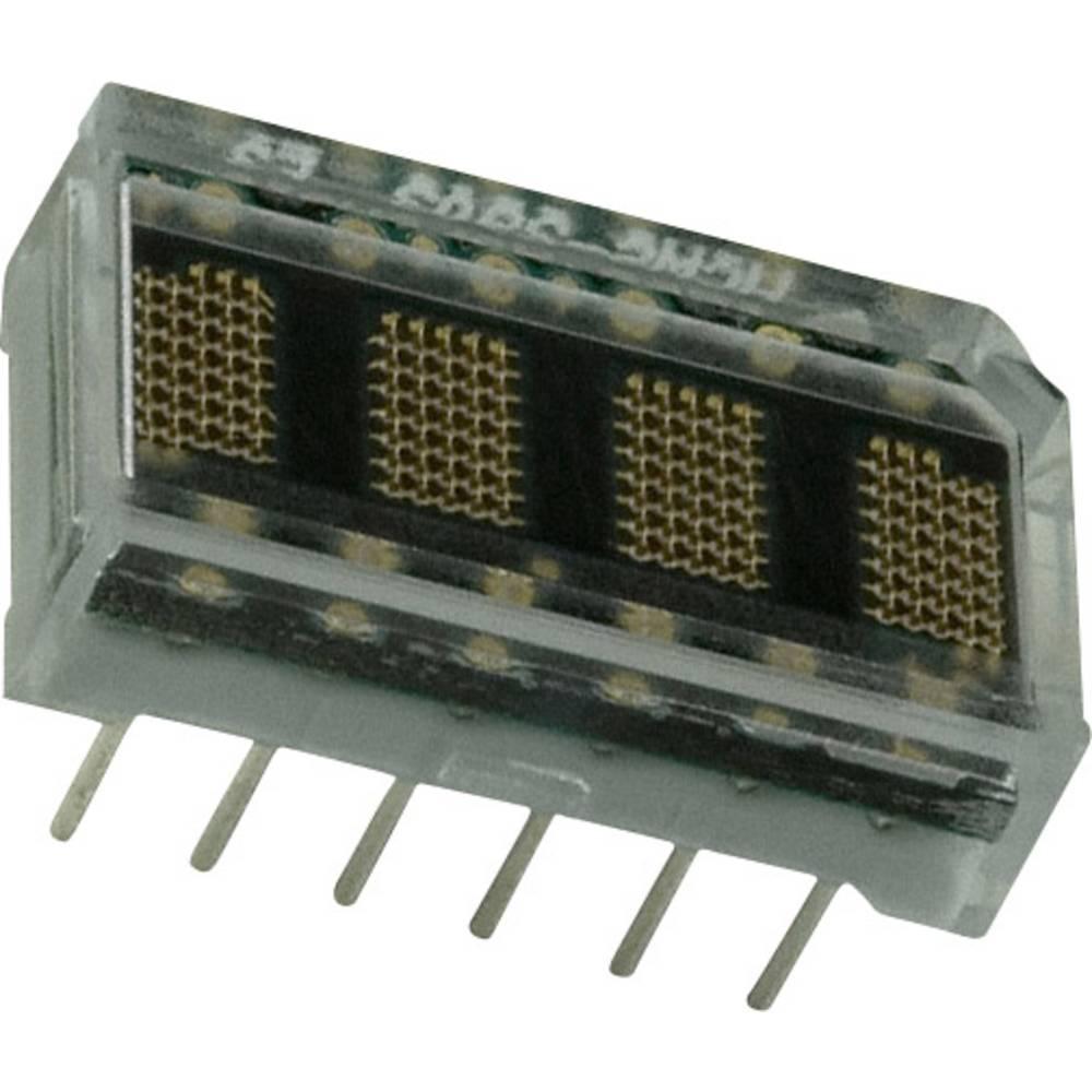 Punkt-Matrix-Anzeige (value.1317368) Broadcom HCMS-2901 3.71 mm Gul