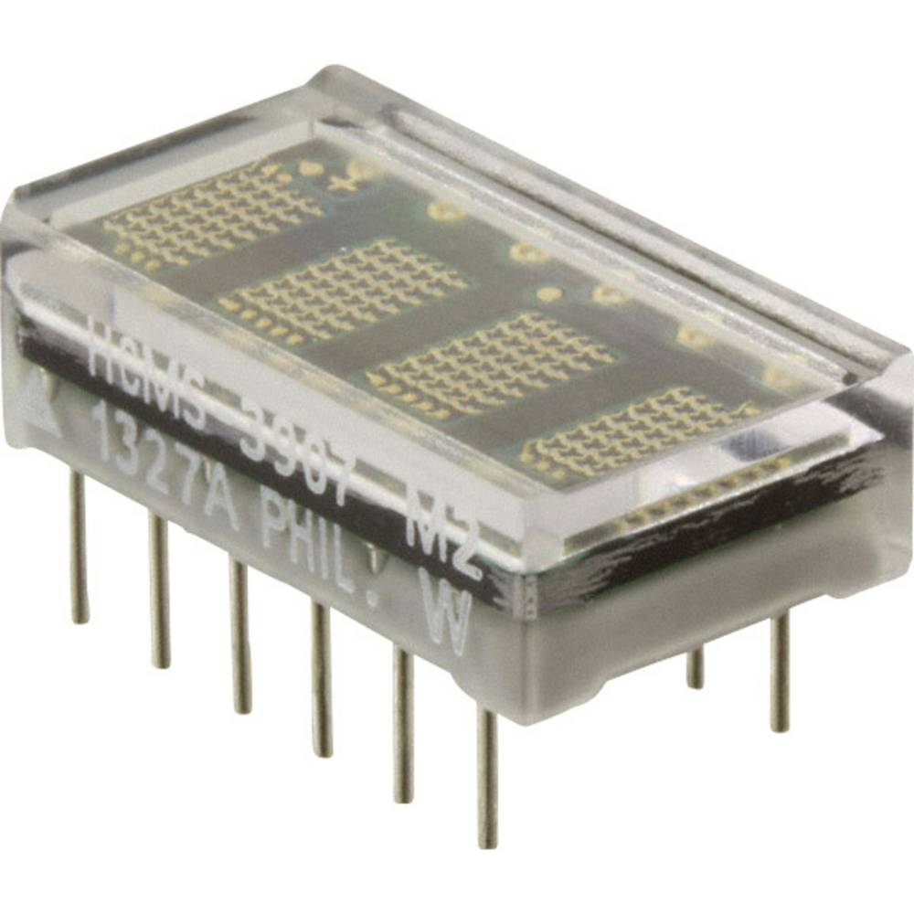 Punkt-Matrix-Anzeige (value.1317368) Broadcom 3.71 mm Grøn