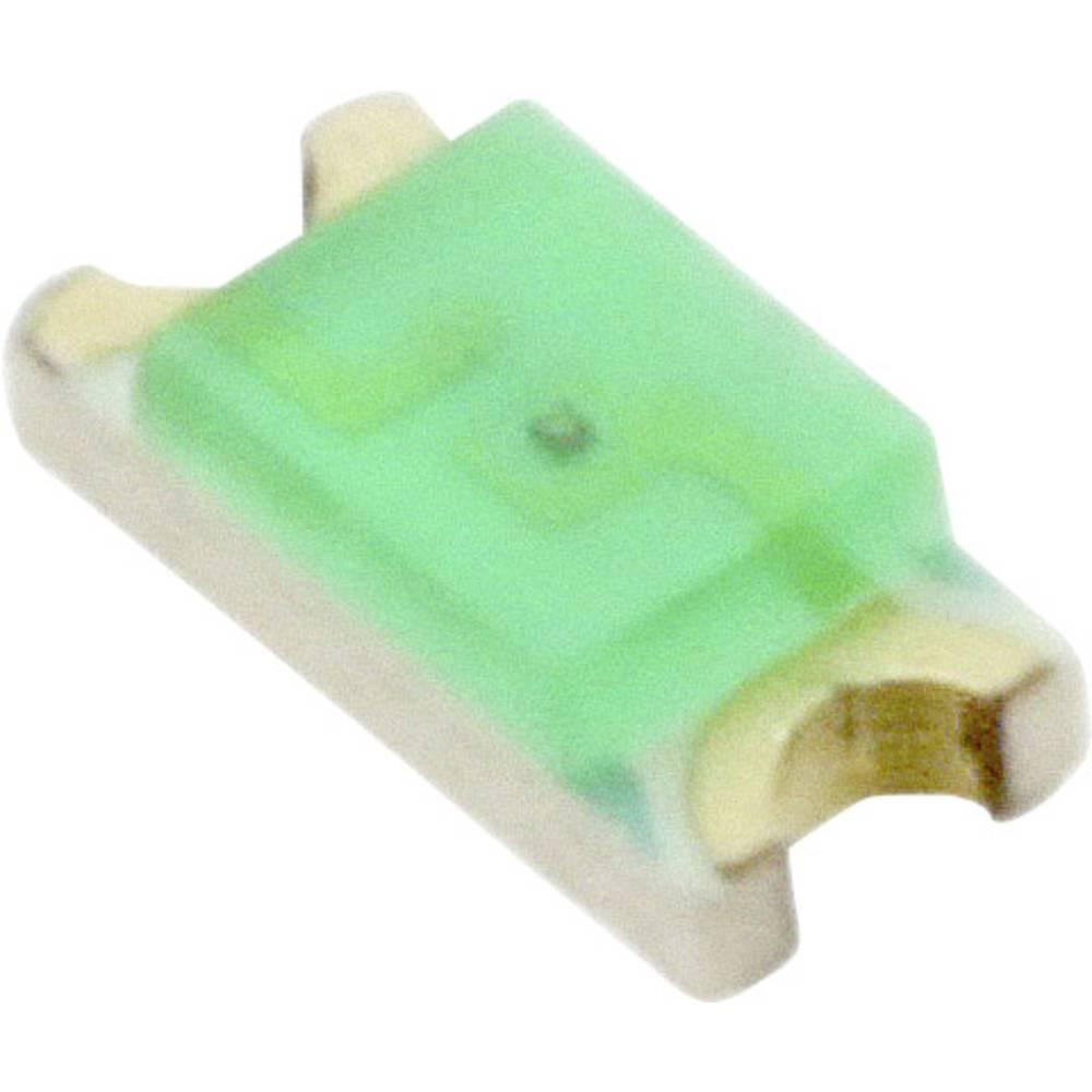 SMD-LED (value.1317393) Everlight Opto QTLP650D4TR 3216 8 mcd 140 ° Grøn