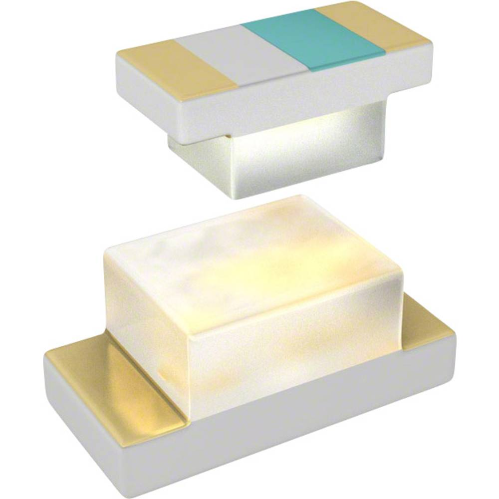 SMD LED Everlight Opto QTLP600C2TR 1608 9 mcd 100 ° Rød