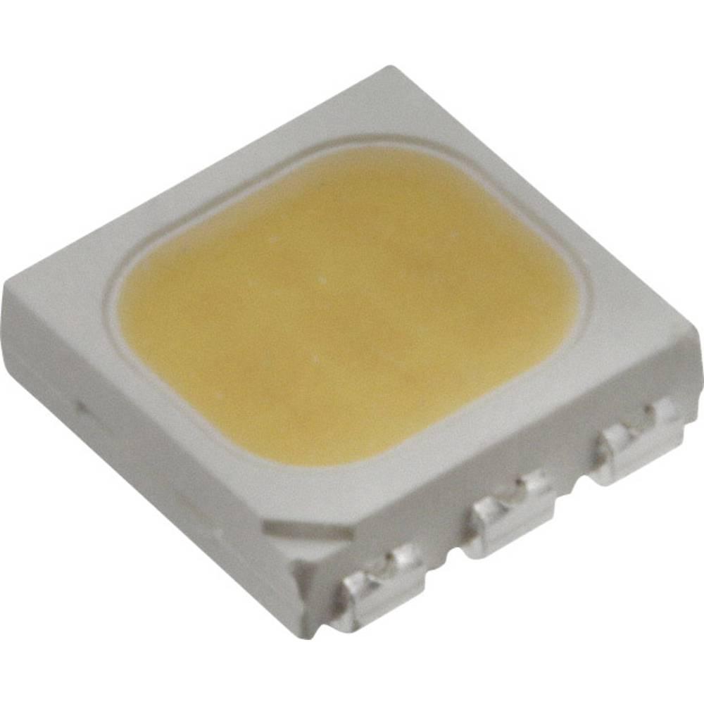 SMD LED Everlight Opto 61-238/LK2C-B28322FAGB2/ET PLCC6 5500 mcd 120 ° Varm hvid