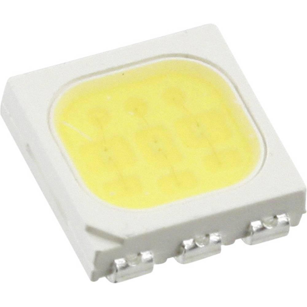 SMD-LED (value.1317393) Everlight Opto 61-238/QK2C-B50632FAGB2/ET PLCC6 5500 mcd 120 ° Kølig hvid