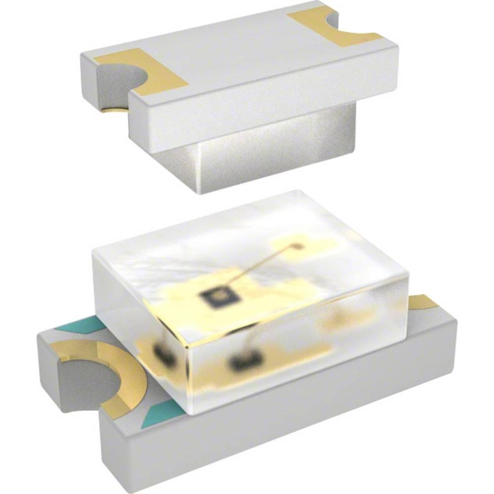SMD LED Everlight Opto QTLP650CRTR 3216 70 mcd 140 ° Rød
