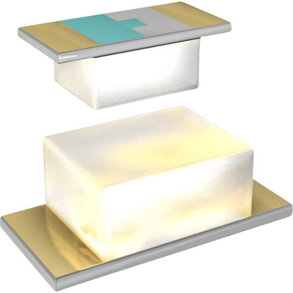 SMD-LED (value.1317393) Everlight Opto QTLP601CRTR 1608 35 mcd 120 ° Rød