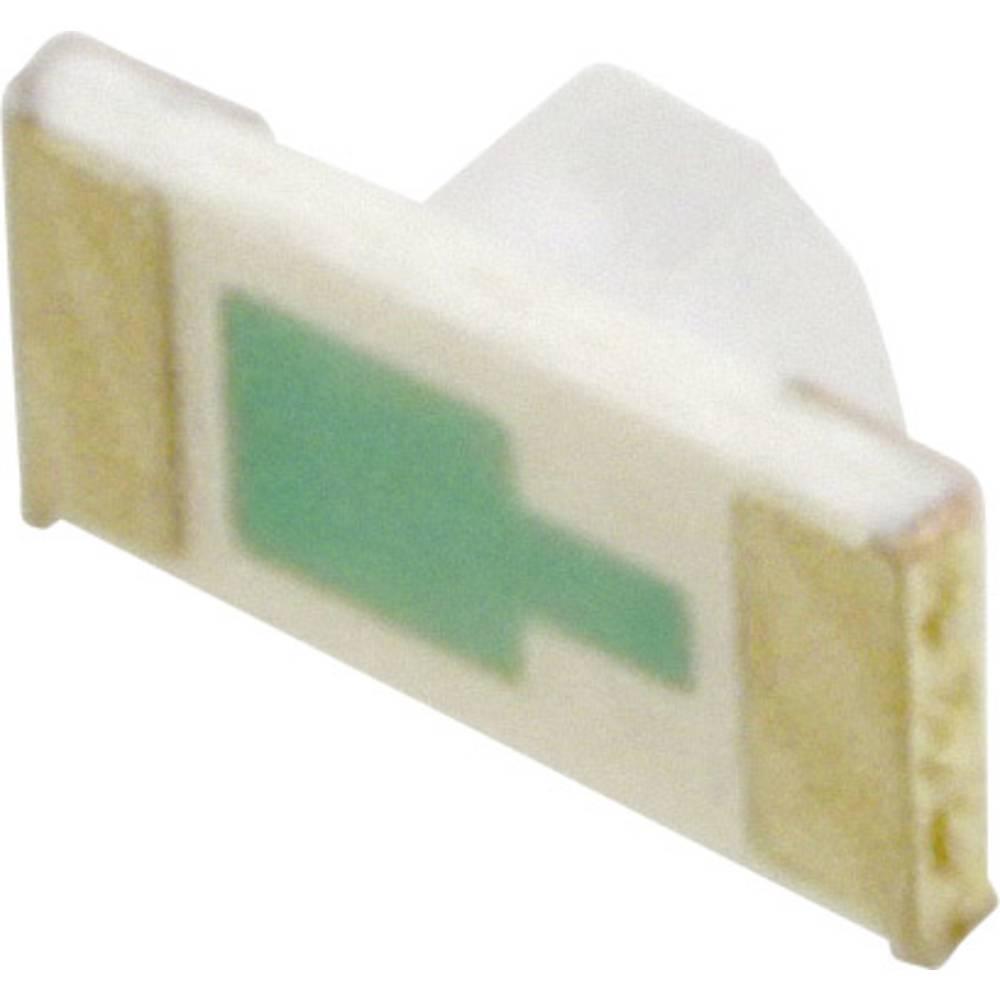 SMD-LED (value.1317393) Everlight Opto QTLP652C4TR 3216 13 mcd 130 ° Grøn