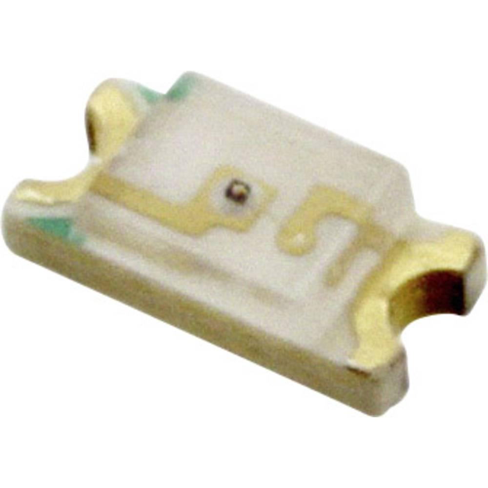 SMD LED Everlight Opto QTLP650D3TR 3216 8 mcd 140 ° Gul
