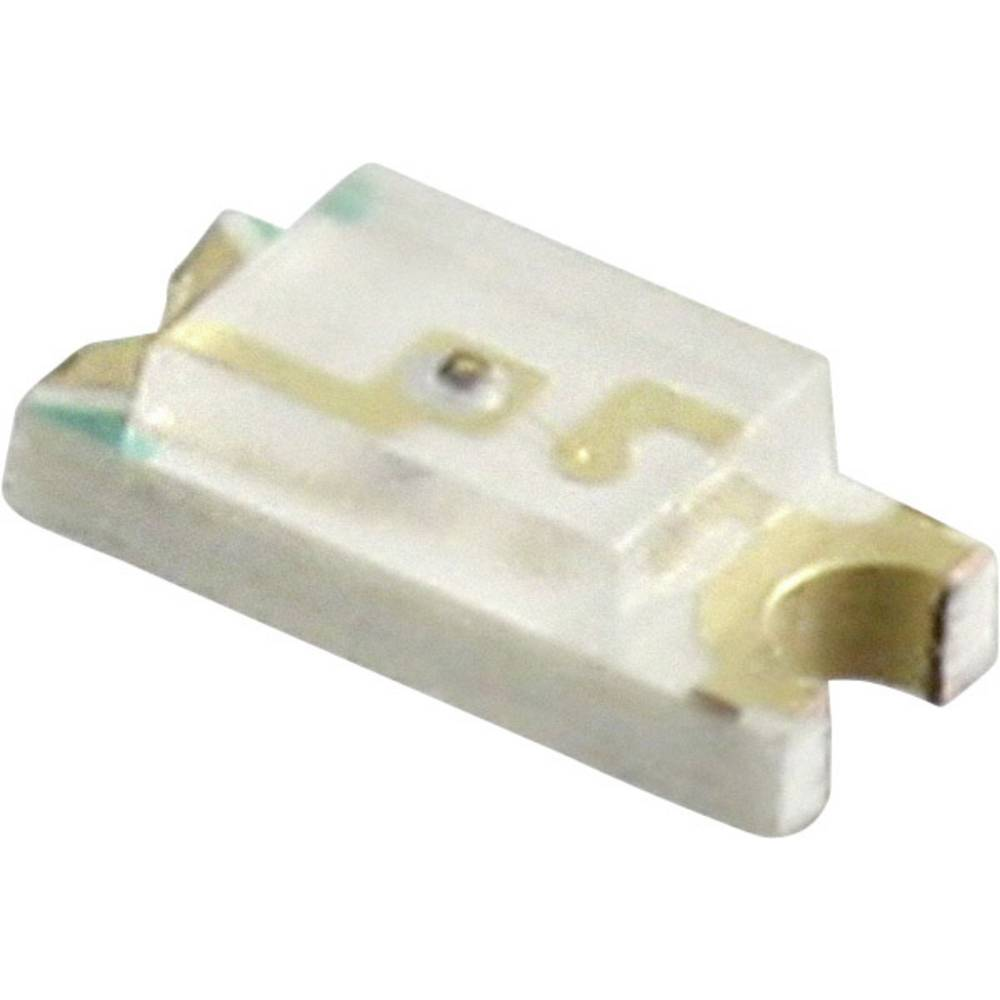 SMD-LED (value.1317393) Everlight Opto QTLP650C3TR 3216 10 mcd 140 ° Gul