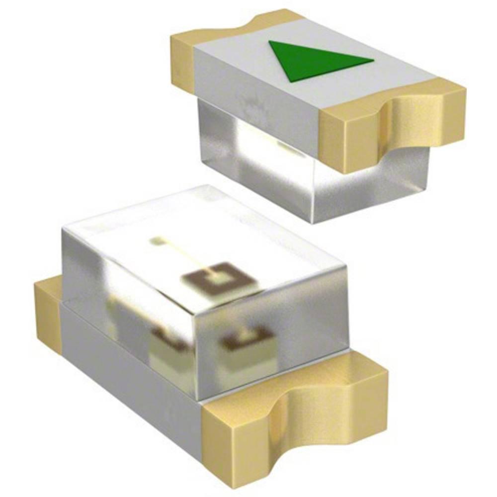 SMD-LED (value.1317393) Dialight 598-8020-107F 1608 240 mcd 140 ° Rød