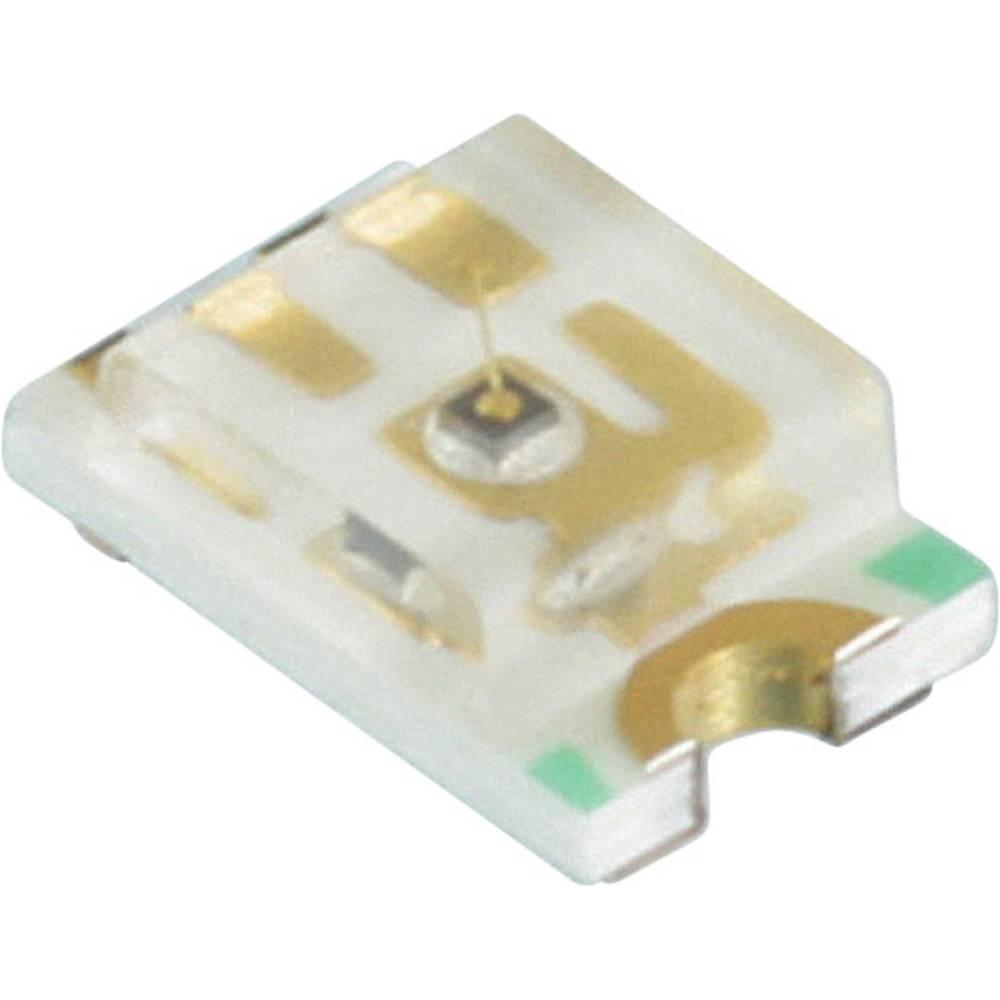 SMD-LED (value.1317393) Dialight 598-8110-107F 2012 40 mcd 140 ° Rød