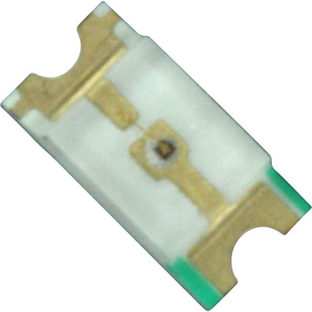 SMD LED Dialight 598-8210-107F 3216 55 mcd 140 ° Rød