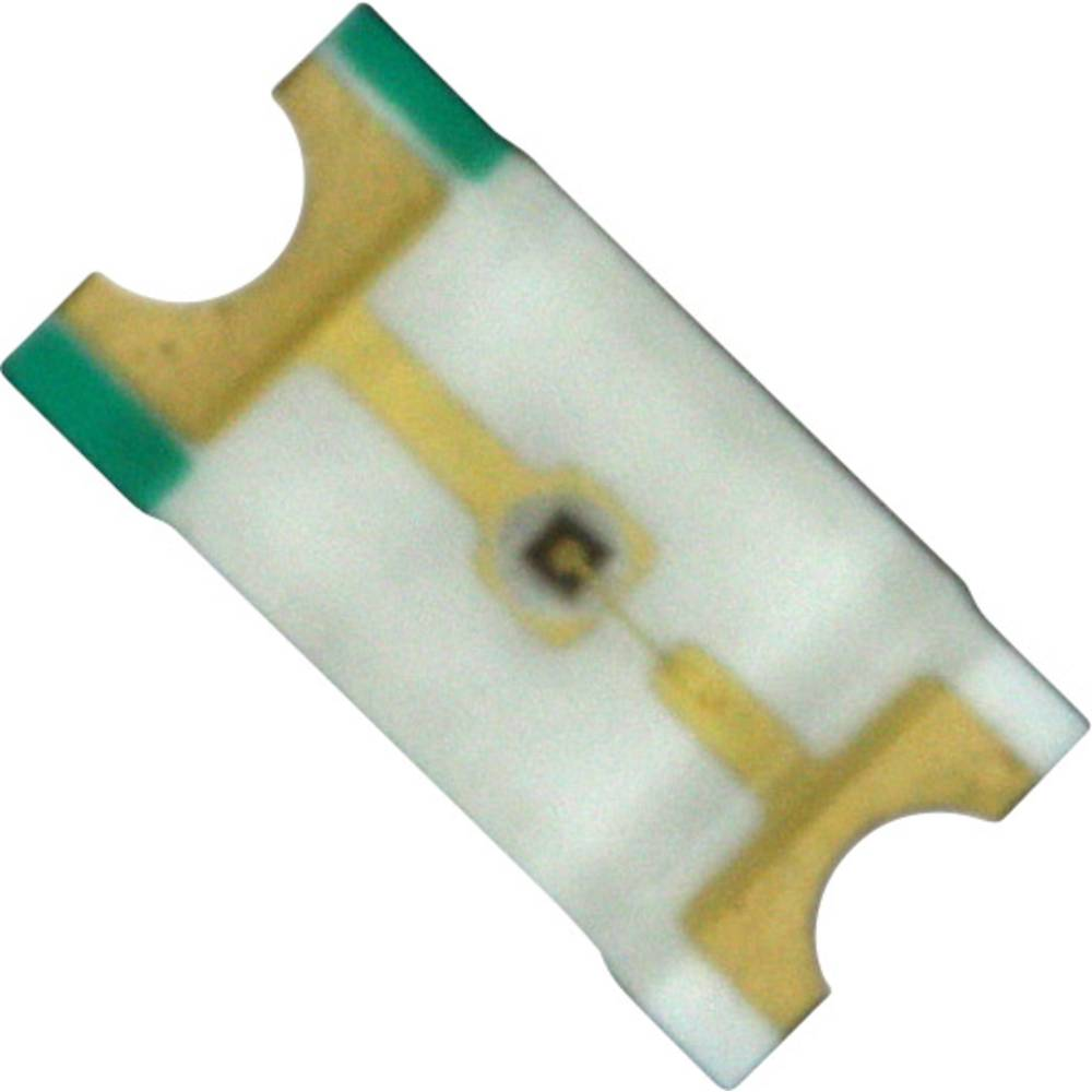 SMD-LED (value.1317393) Dialight 598-8220-107F 3216 150 mcd 140 ° Rød