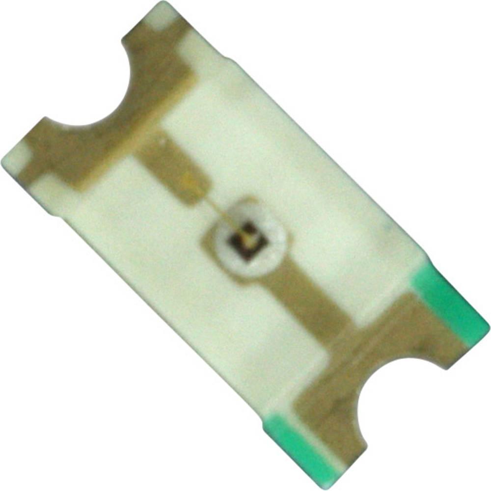 SMD-LED (value.1317393) Dialight 598-8230-107F 3216 110 mcd 140 ° Orange