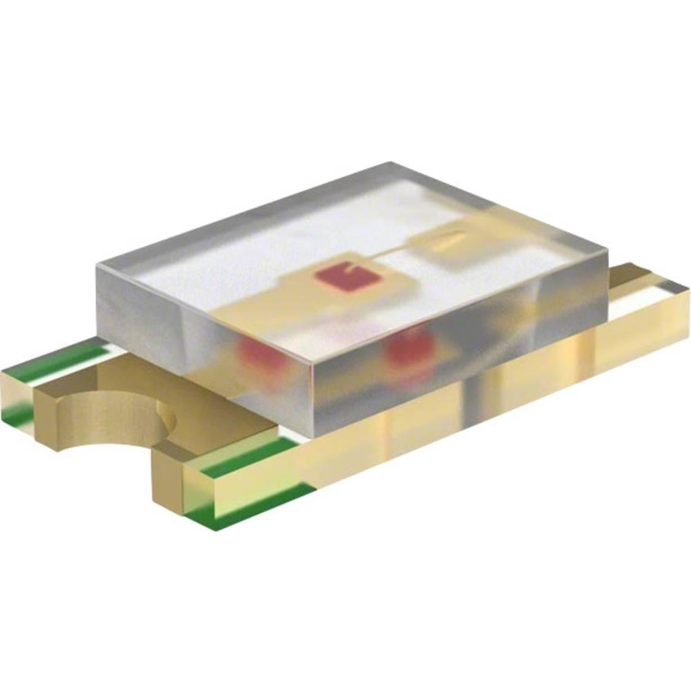 SMD-LED (value.1317393) Dialight 598-8281-107F 3216 300 mcd 140 ° Grøn
