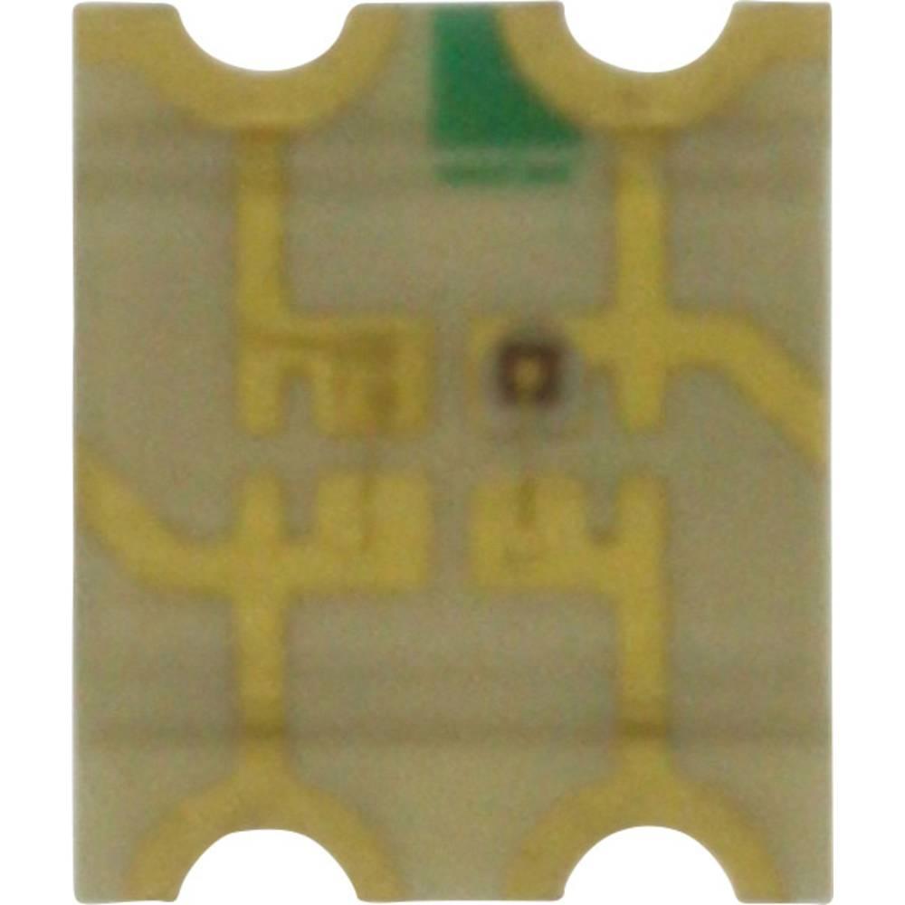SMD-LED (value.1317393) Dialight 598-8621-207F 3225 220 mcd, 100 mcd 140 ° Grøn, Rød