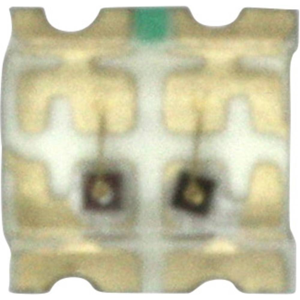 SMD-LED (value.1317393) Dialight 598-8440-207CF 1616 50 mcd, 135 mcd 140 ° Grøn, Gul