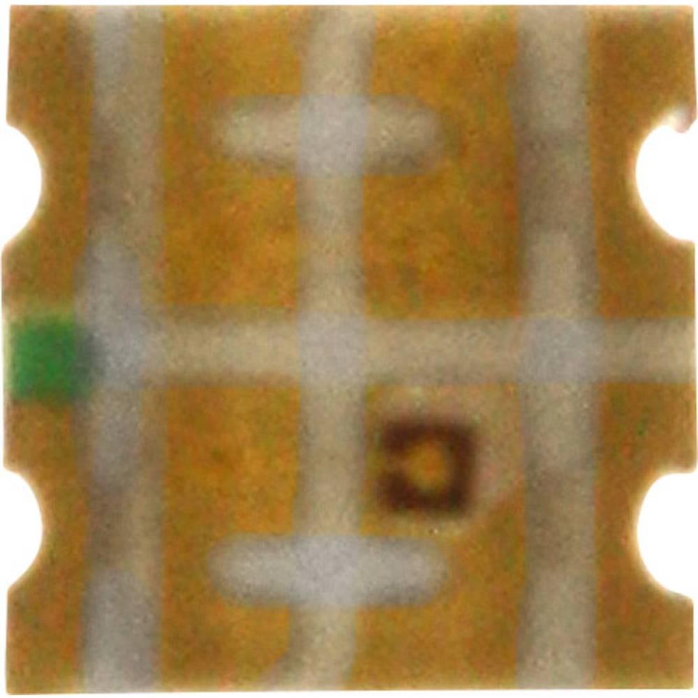 SMD LED Dialight 598-8450-207CF 1616 120 mcd 140 ° Grøn, Gul
