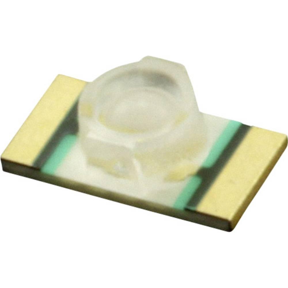 SMD-LED (value.1317393) Dialight 597-6601-607F 3216 112.5 mcd 70 ° Blå