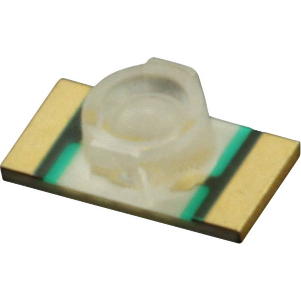 SMD-LED (value.1317393) Dialight 597-6501-607F 3216 104 mcd 70 ° Gulgrøn